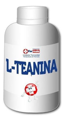 L Teanina 500mg + Magnésio Glicina 200mg 140 Cápsulas