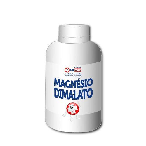 Magnésio Dimalato 560mg 60 Cápsulas Manipulado