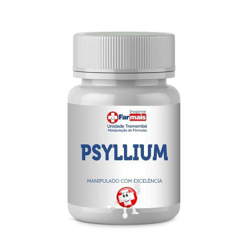 PSYLLIUM 1000MG - REGULADOR INTESTINAL COM 60 DOSES