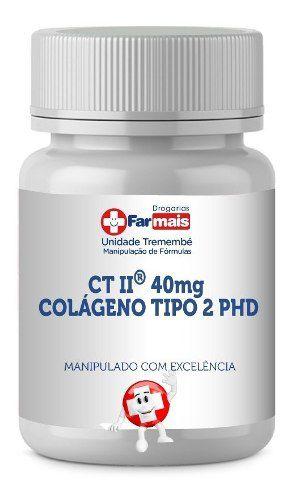 Uc-2 = Similar Ct-2 Colágeno Tipo 2 Autêntico Phd 40mg C/30