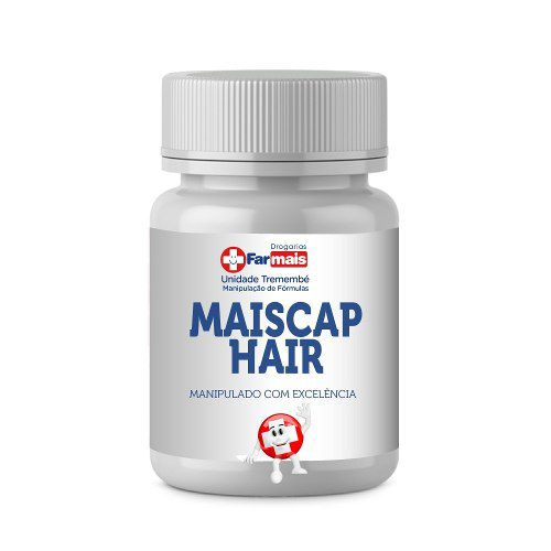 MAIS TURBO (MAISCAP) Imecap Hair Manipulado 270cp + Brinde + Frete 24hrs