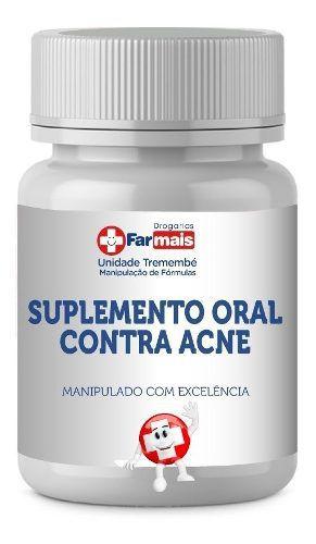 Suplemento Oral Contra Acne 60 Cápsulas
