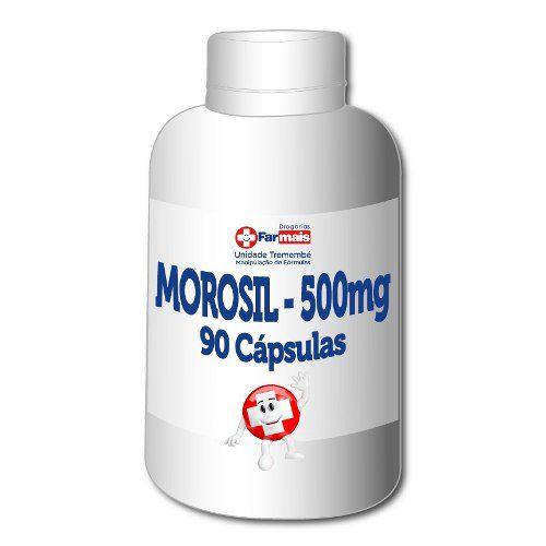 Morosil 500 Mg 90 Cp 3 Potes (180 Cp)+brinde+frete