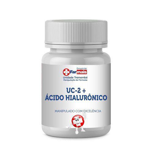 Uc Ii 40mg Uc 2 Tipo 2 + Ácido Hialurônico 50mg 90 Cápsulas