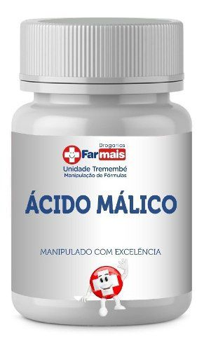 ÁCIDO MÁLICO 400mg Cápsulas