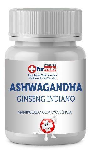 ASHWAGANDHA  (ginseng Indiano) 500mg 120 Cápsulas