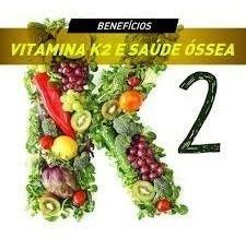 Vitamina K2 Mk7 100mcg + Vitamina D3 5000ui 60 Cápsulas