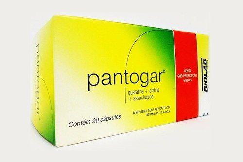 Pantogar C/90 Cápsulas - 3 Caixas - Produto Original!!