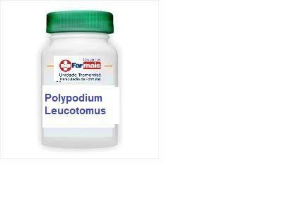 Polypodium Leucotomos 260mg 120 Cápsulas Manipulado