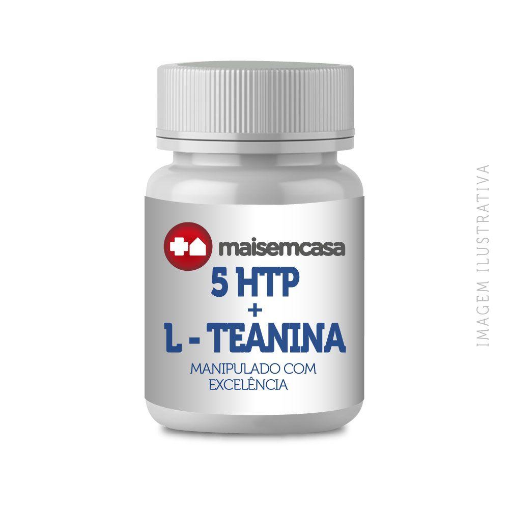 5 HTP 50mg + L - TEANINA 100mg 60 Cápsulas