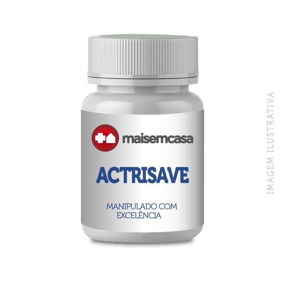 ACTRISAVE ™ 250mg 60 Cápsulas - Promove a Redução da Queda Capilar