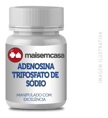 Adenosina Trifosfato De Sódio (bio Atp) 200mg 60 Cp