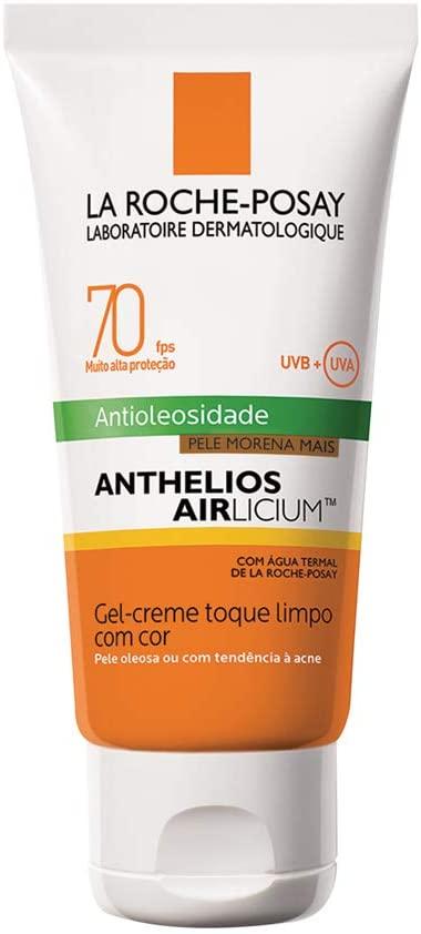ANTHELIOS AIRLICIUM ANTIOLIOSIDADE PELE MORENA MAIS 70 FPS 50 G