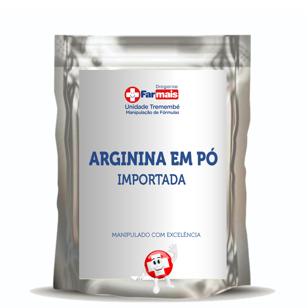 Arginina em pó - importada - 500 GR