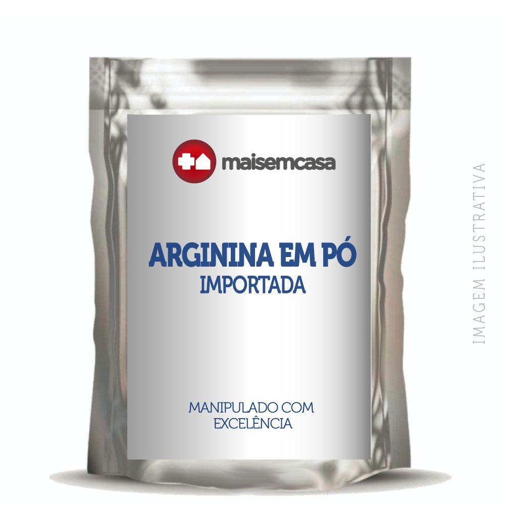 Arginina em pó - importada - 500g
