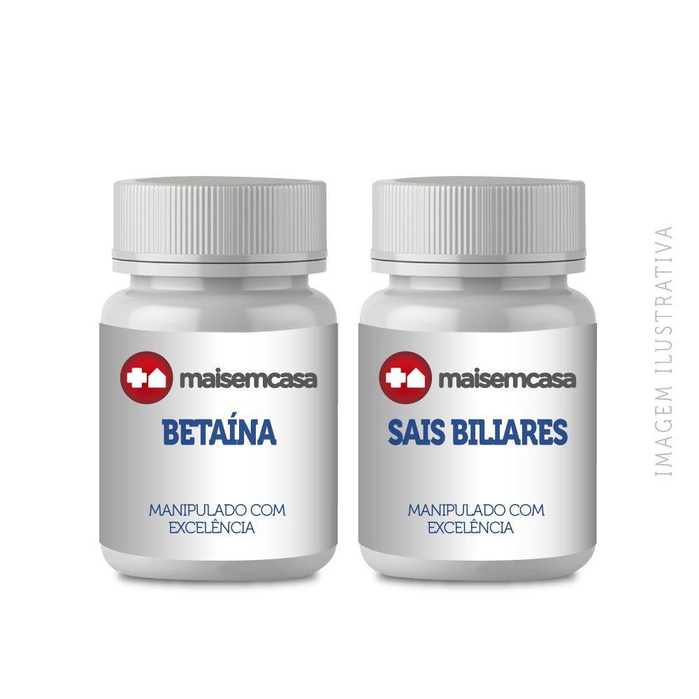 BETAÍNA + SAIS BILIARES  Cápsulas Protetotas