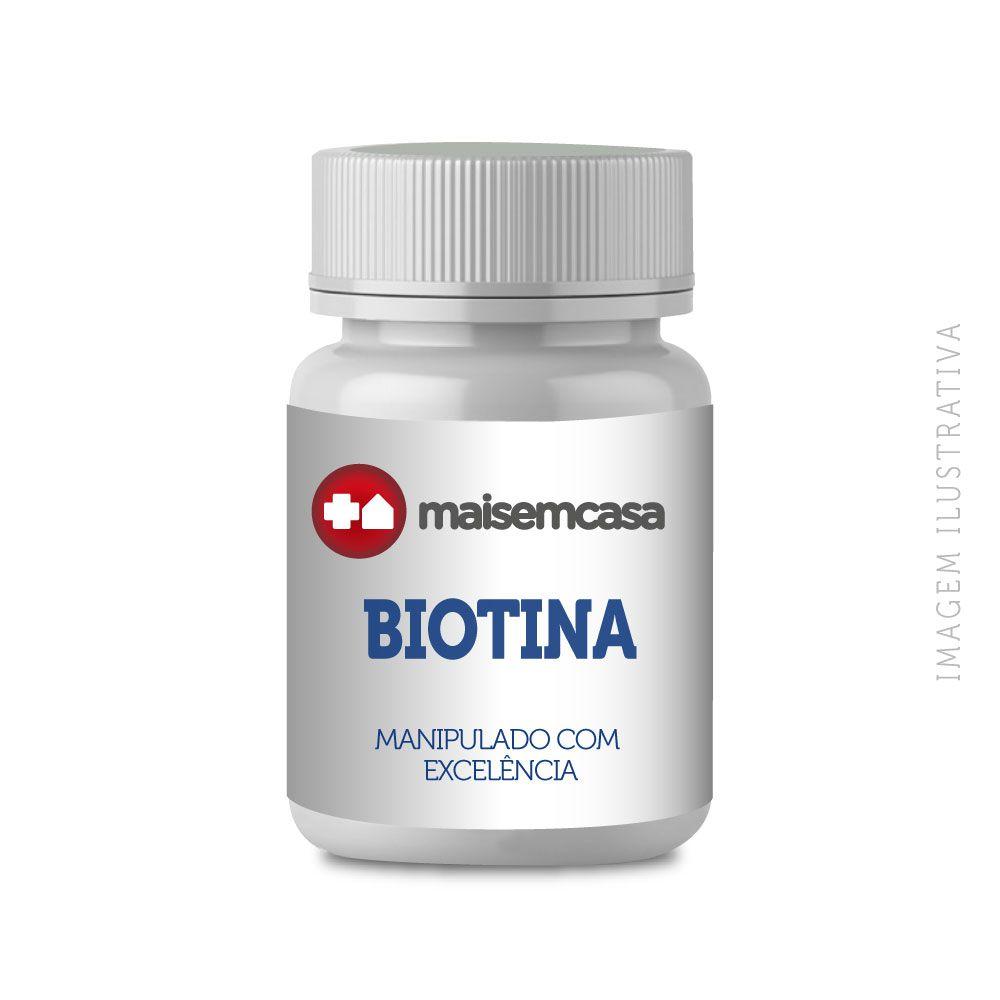 Biotina 20 Mg (vitamina B7) 120 Cáps Vegetais