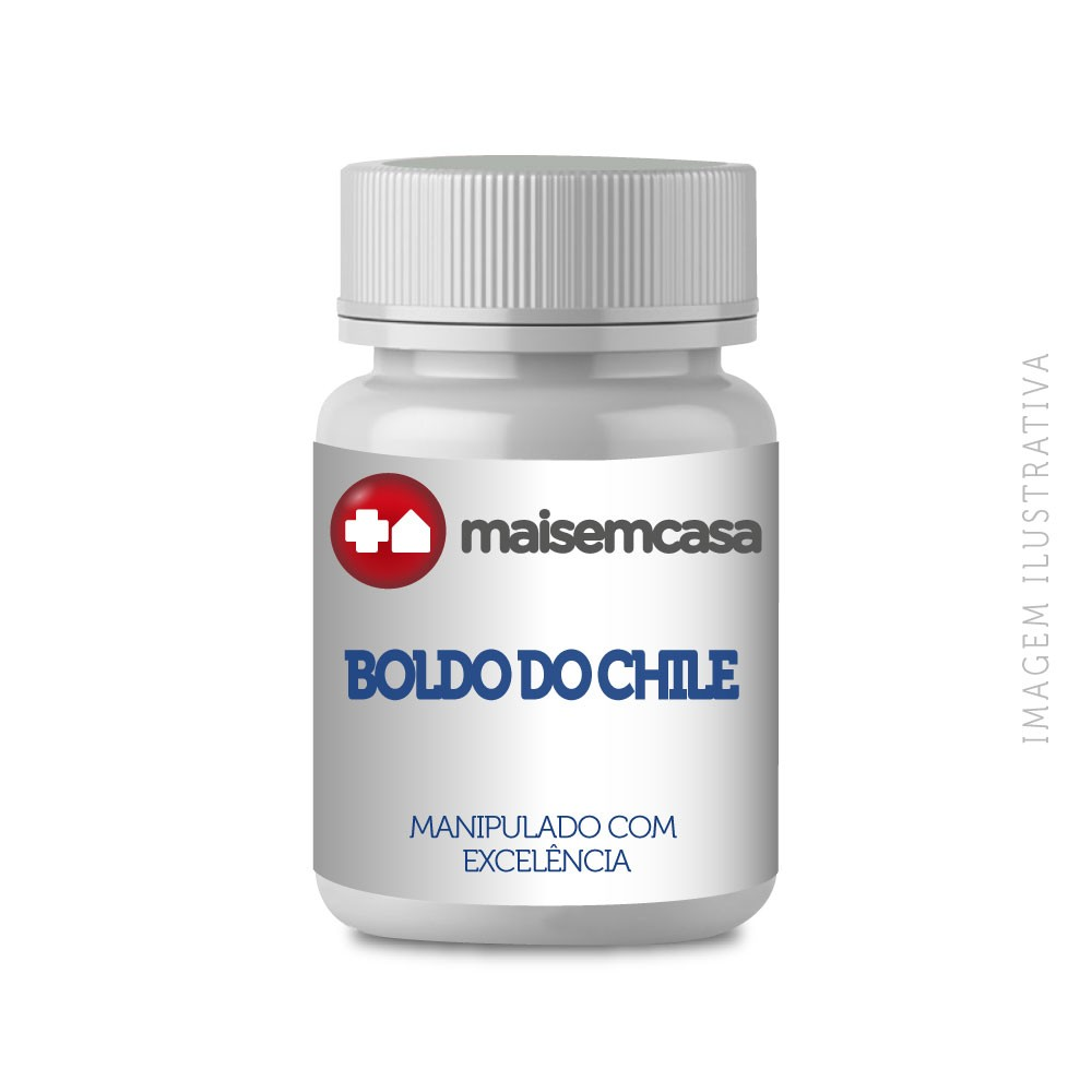 Boldo do Chile, 350mg - 90 cápsulas