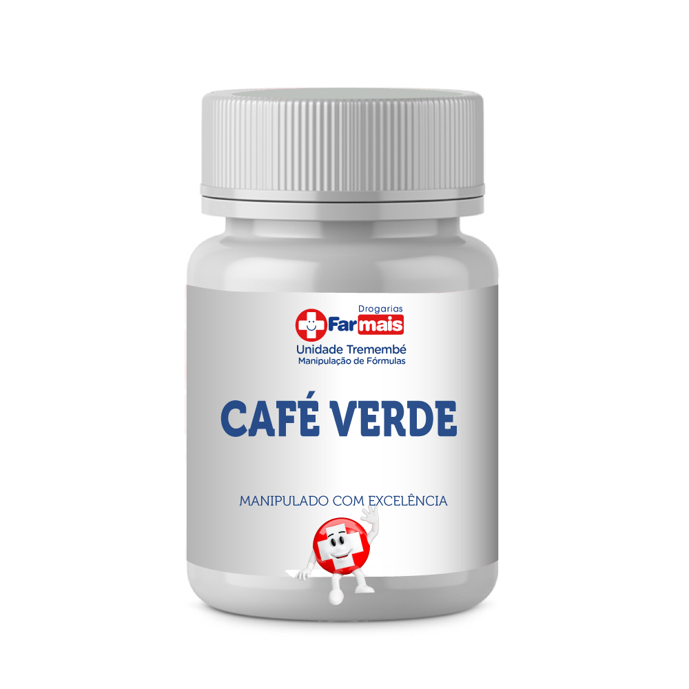 CAFÉ VERDE 300MG - (Green Coffe)