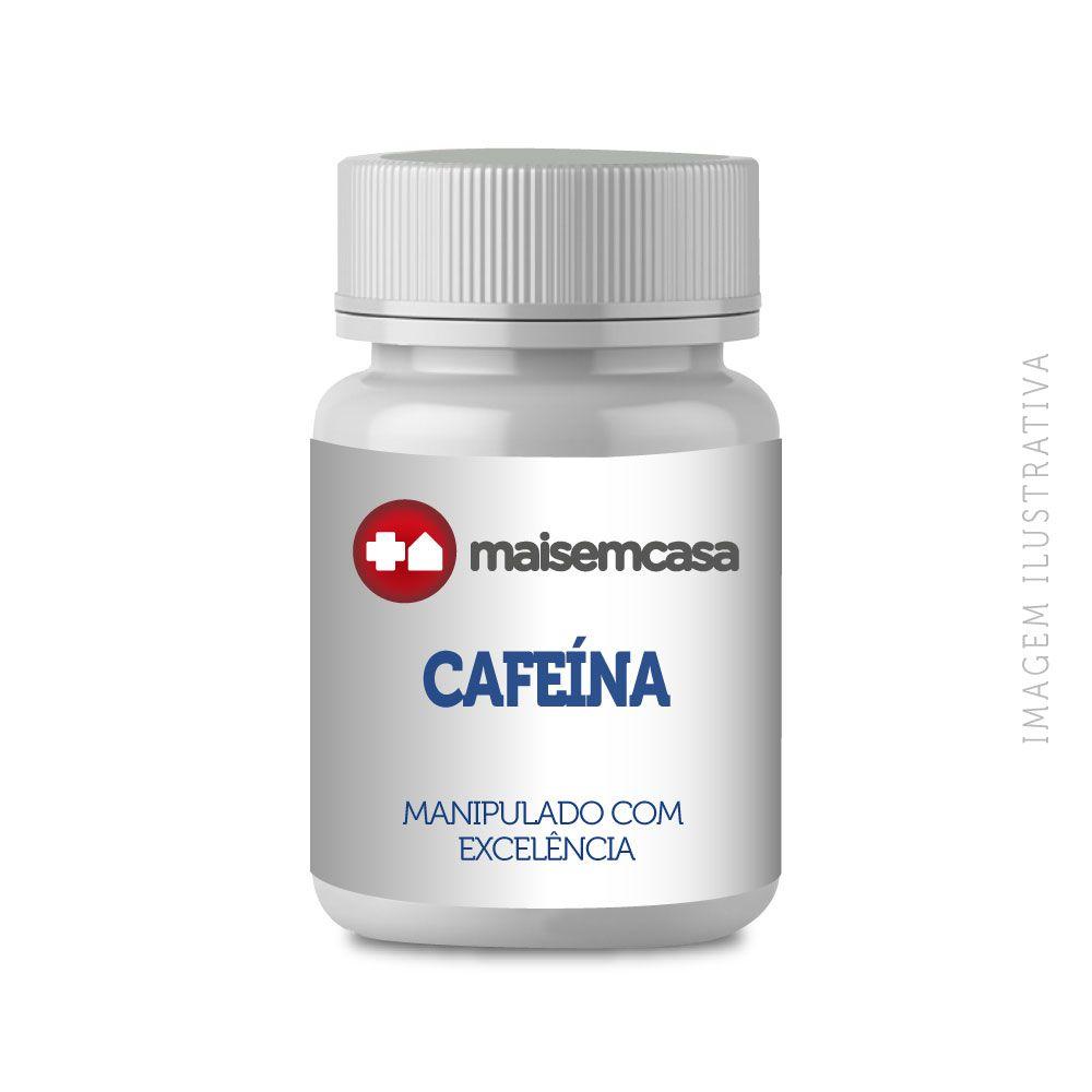 CAFEÍNA MANIPULADA 100MG, 60 Cápsulas