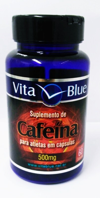 CAFEÍNA PARA ATLETAS EM CÁPSULAS 500mg