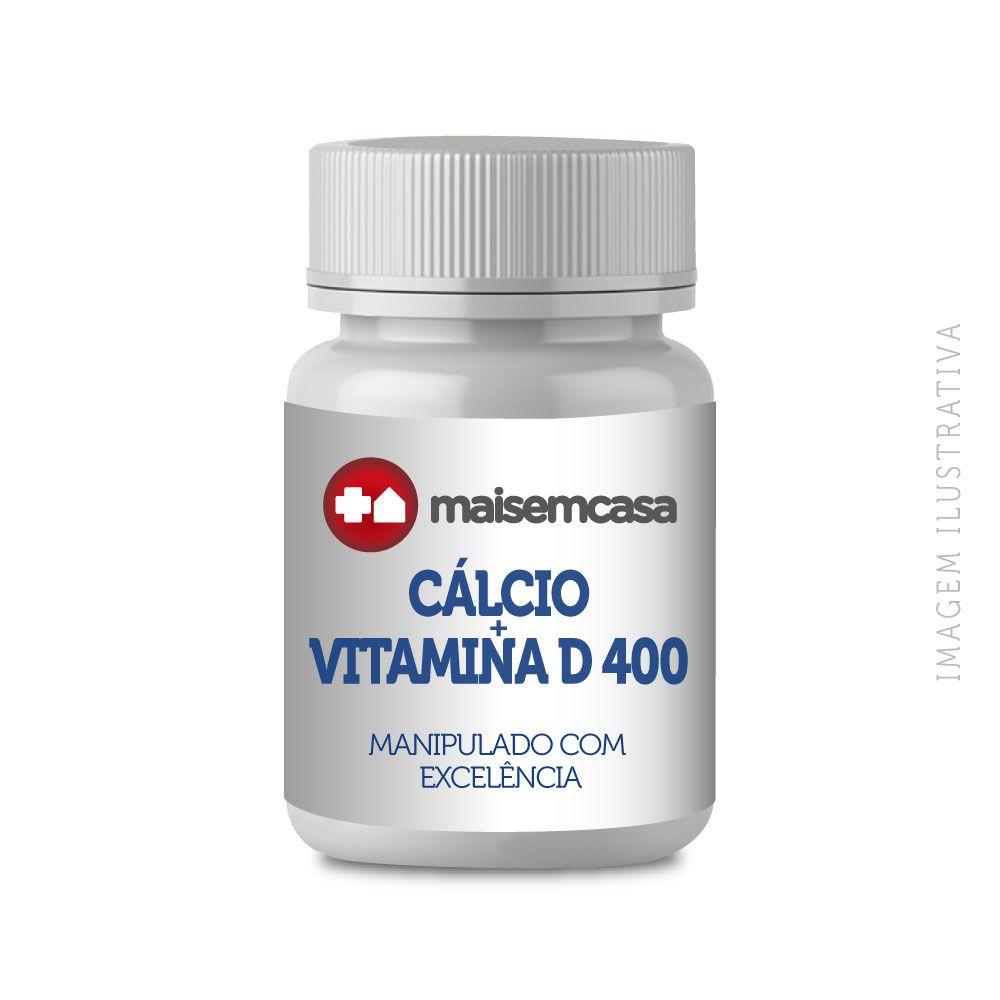 Cálcio + Vitamina D 400 - Cápsulas