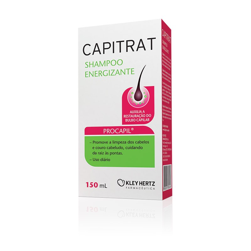 CAPITRAT NUTRIÇÃO CAPILAR SHAMPOO ENERGIZANTE 150ML