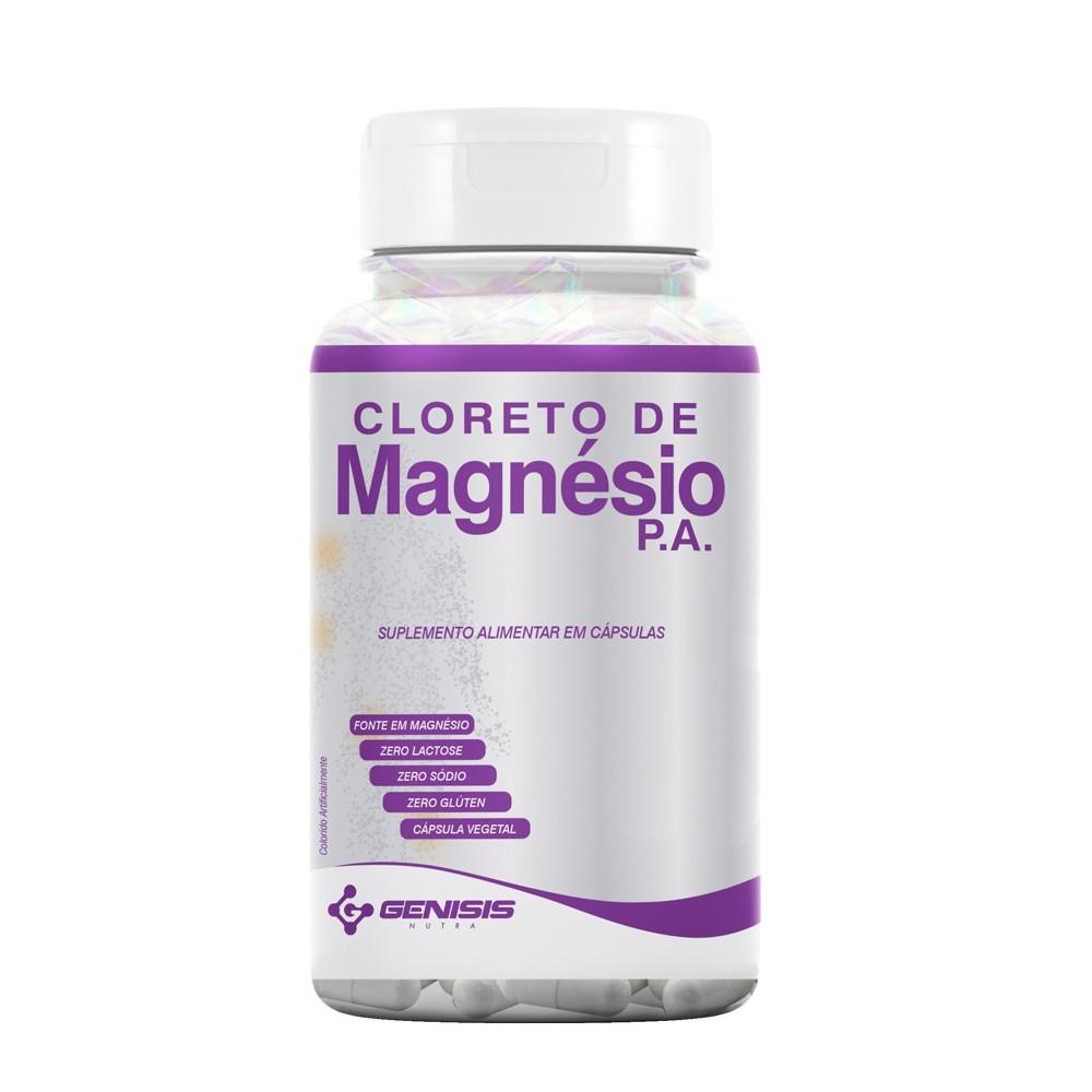 CLORETO DE MAGNESIO P.A. 500 MG 60 CAPS