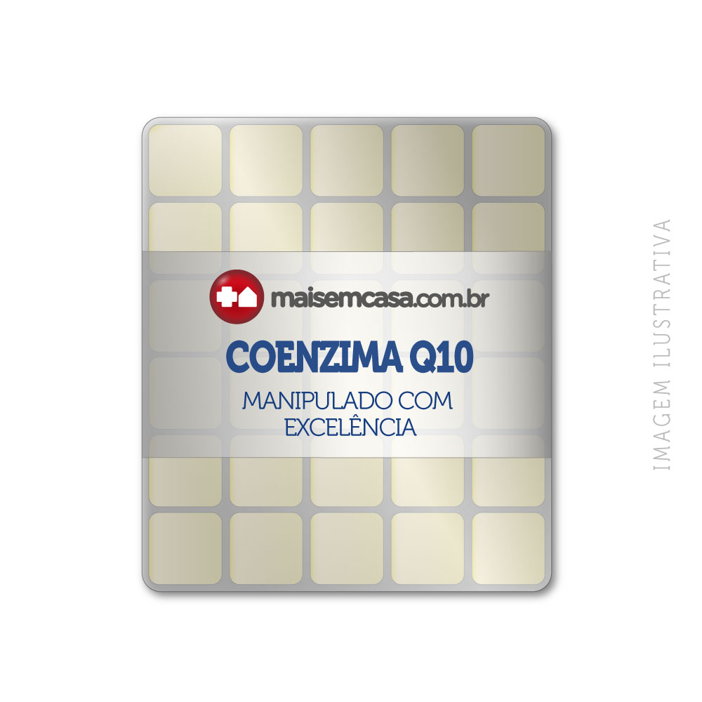 Coenzima Q10 100mg (ubiquinona) 60 Pastilhas Sublinguais