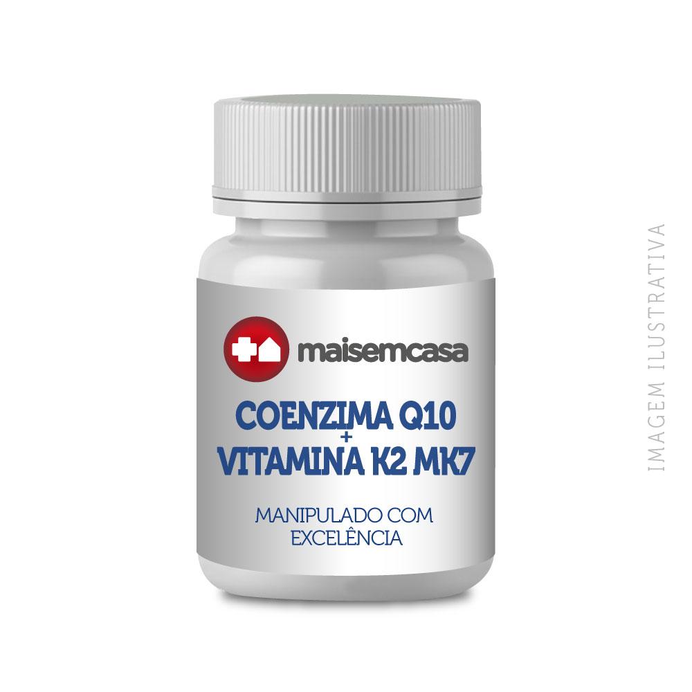 Coenzima Q10 100mg + Vit K2 Mk7 120mcg 90 Tablets Subli
