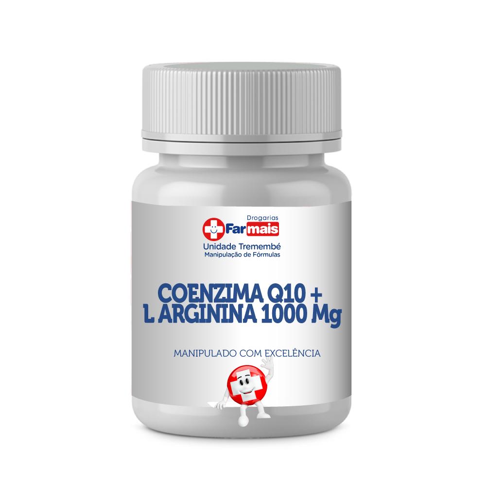 COENZIMA Q10 200mg + L ARGININA 1000 Mg 30 Doses