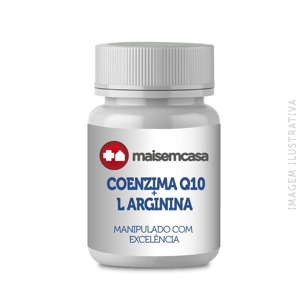 COENZIMA Q10 200mg + L ARGININA 1000 mg, com 30 Doses