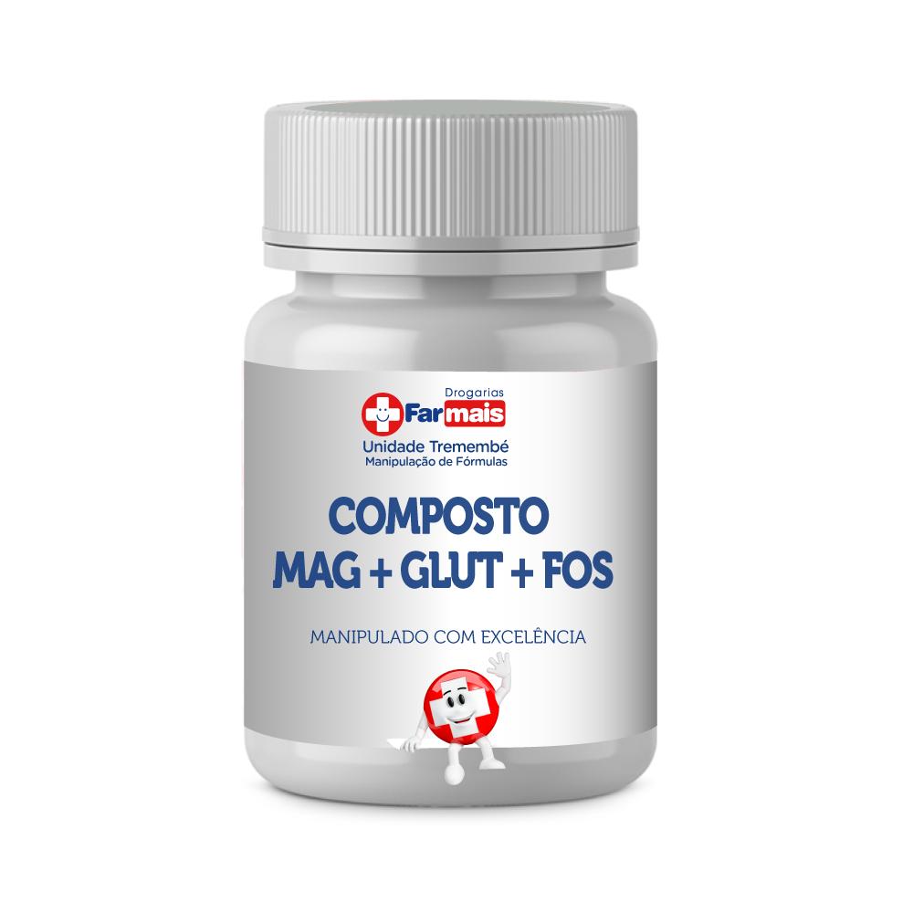 COMPOSTO MAG + GLUT + FOS