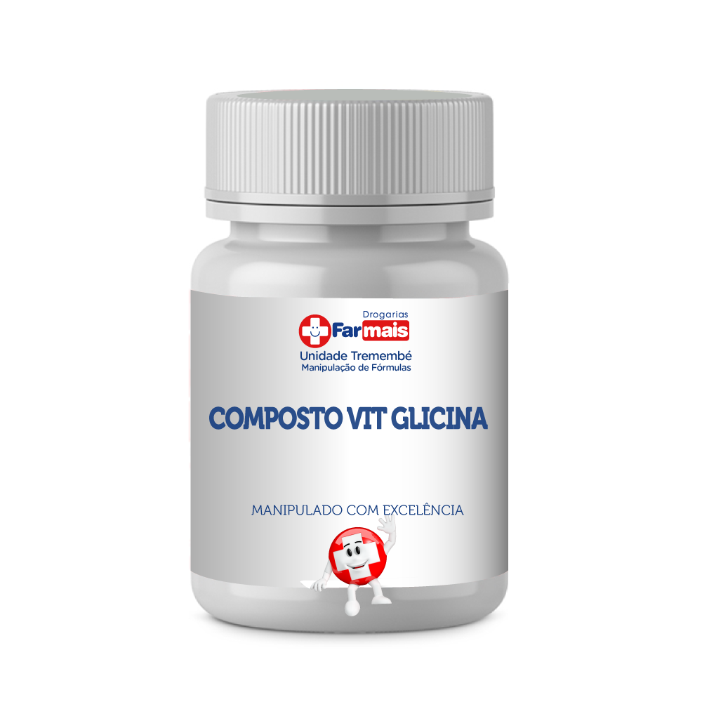 COMPOSTO VIT GLICINA 200mg Kit