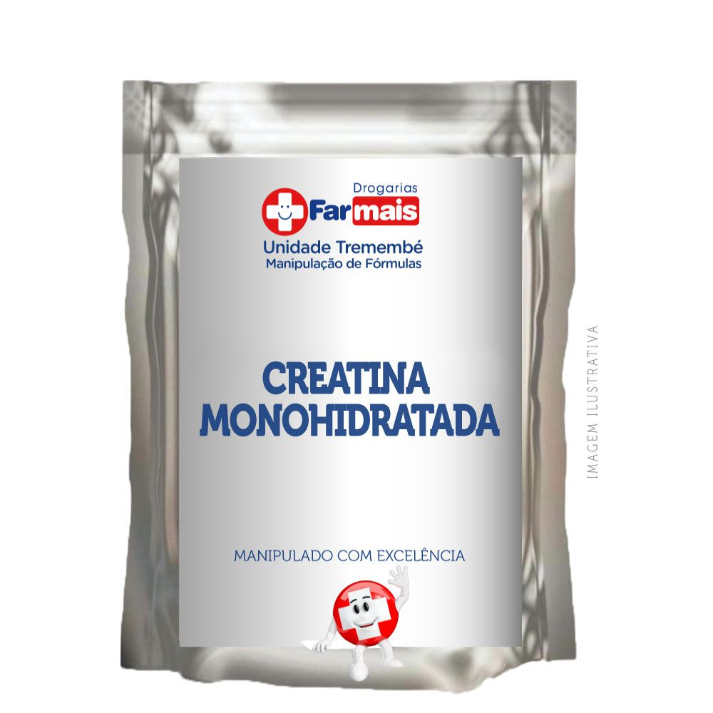 CREATINA MONOHIDRATADA Embalagem De 5kg