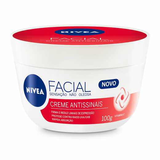 CREME FACIAL NIVEA ANTISSINAIS 100 G