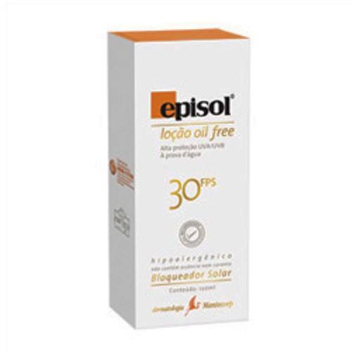 EPISOL LOÇÃO OIL FREE 30FPS 120G
