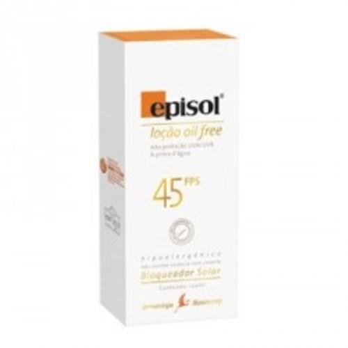 EPISOL LOÇÃO OIL FREE 45 FPS 120 G