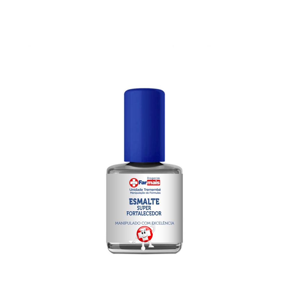 Esmalte super-fortalecedor 10ml (para unhas fracas e quebradiças)