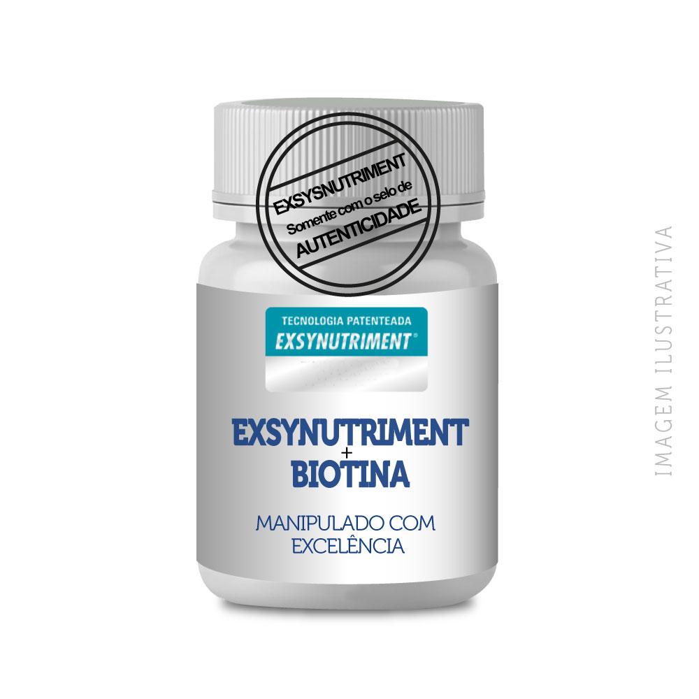 Exsynutriment 150mg + Biotina 10 Mg 60 Cápsulas Veganas