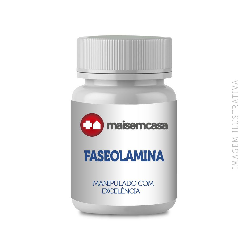 FASEOLAMINA 500MG, COM 120 CÁPSULAS
