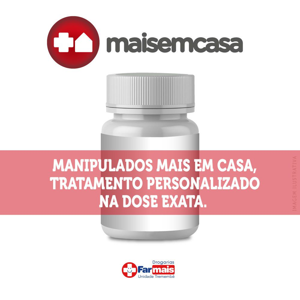 FÓRMULA  MIX CAPILAR MAIS (Pill Food + Luminous + Nutricolin + Biotina + Silicio + MSN + Colageno 1, 3 e 4)  30  CPS