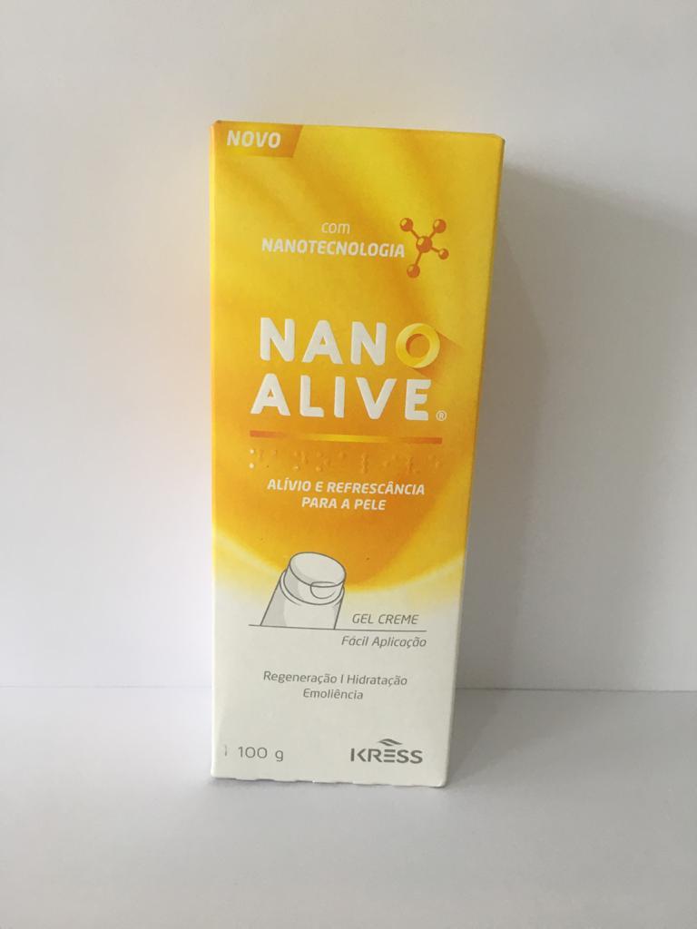 GEL CREME NANO ALIVE 100 G