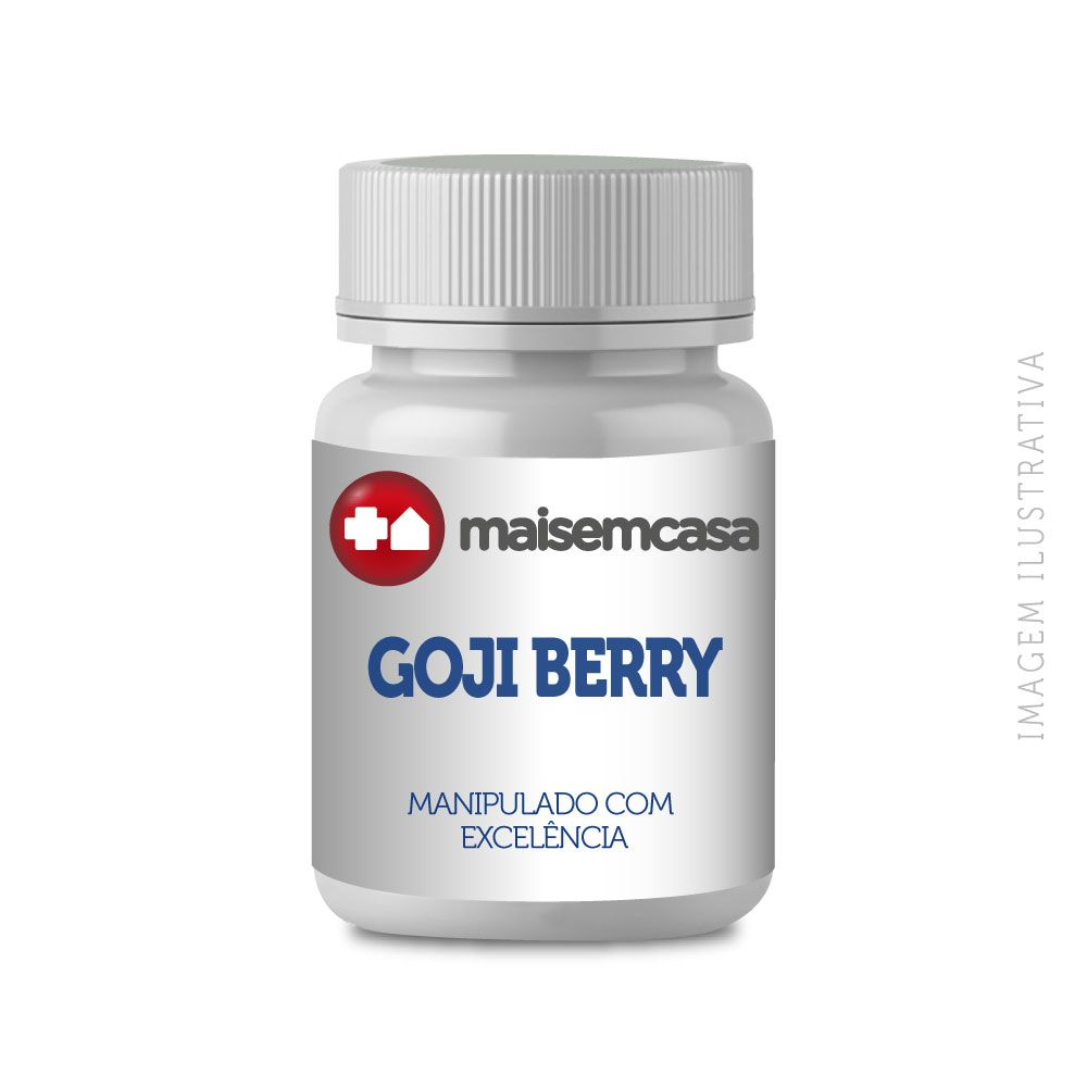 GOJI BERRY 200MG - 90 CÁPSULAS
