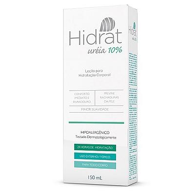 HIDRAT UREIA 10% LOÇÃO PARA HIDRATAÇÃO CORPORAL 150ML