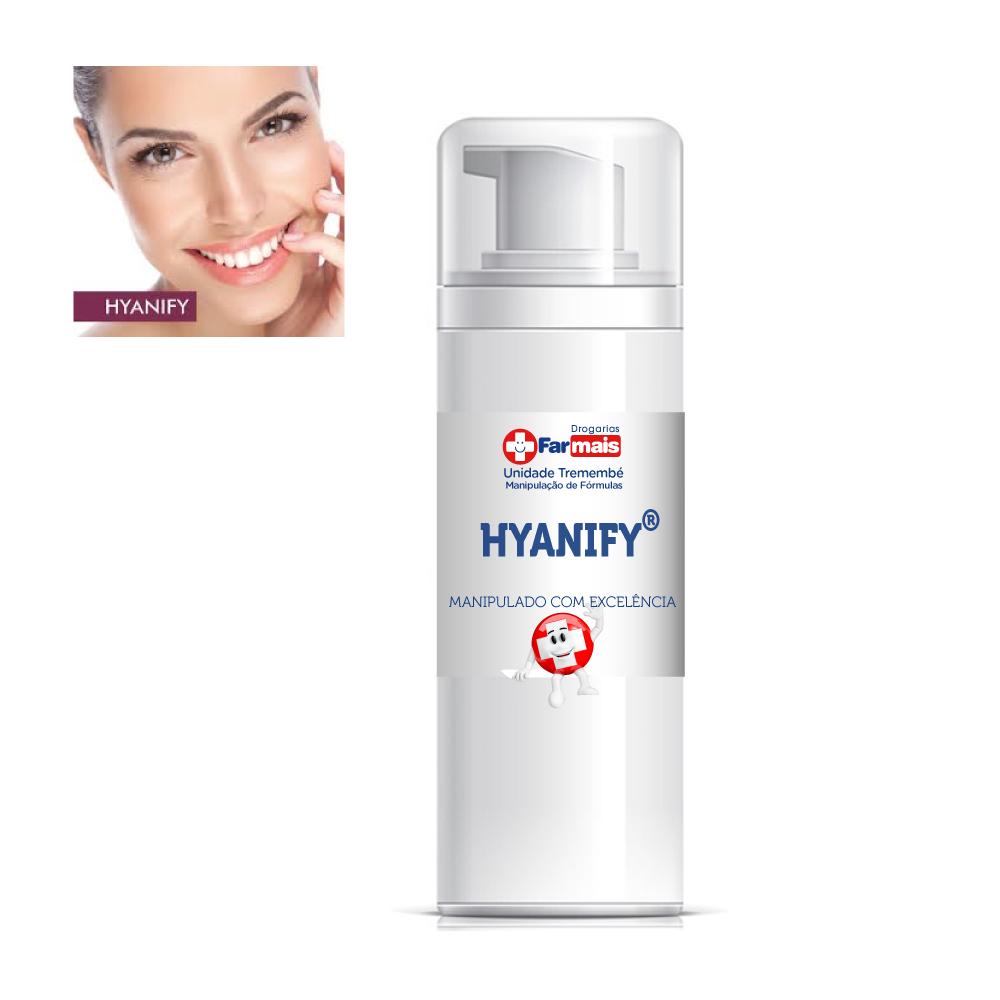 Hyanify® 2% trata e elimina o bigode chinês - creme