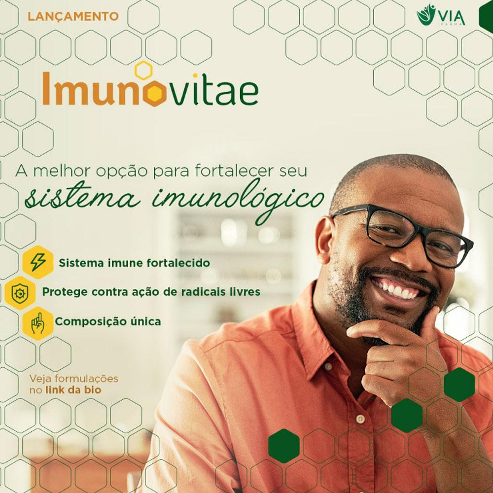 ImunoVitae 500mg Cápsulas - Suplemento Imunidade