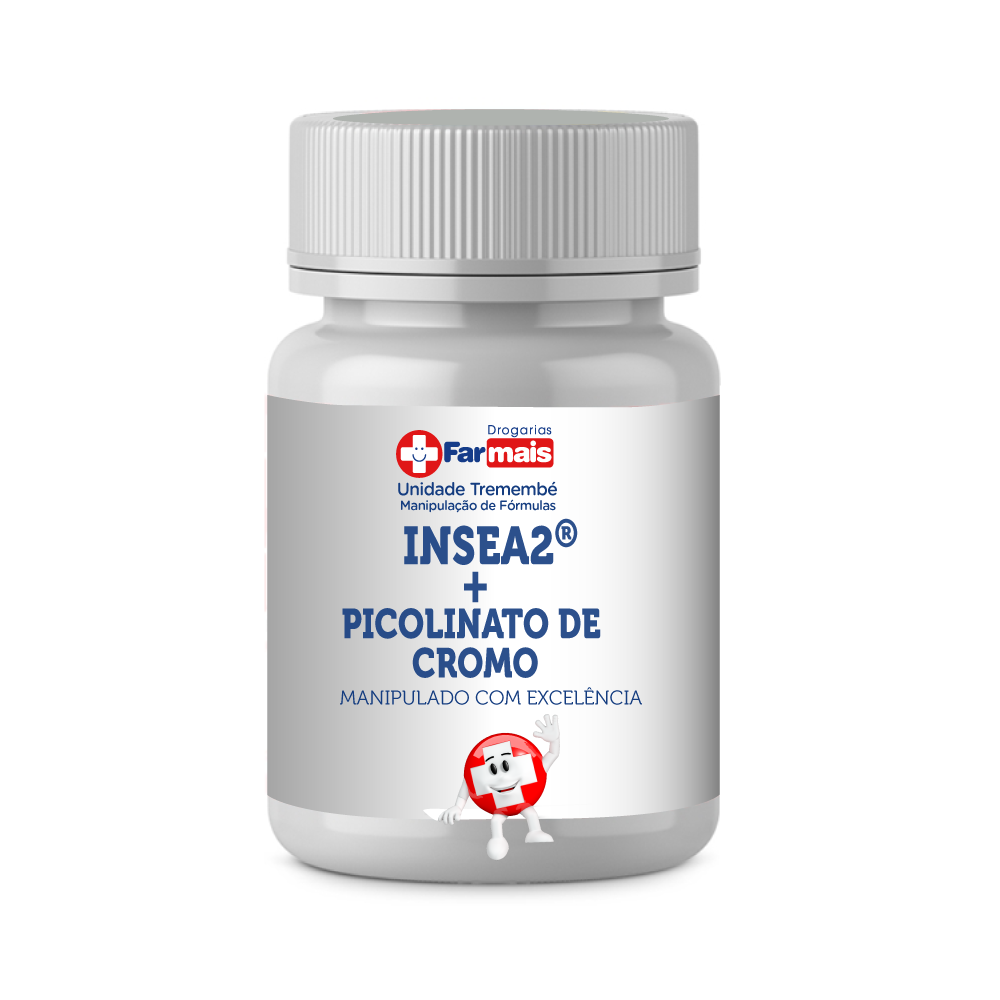 INSEA2® 250MG + PICOLINATO DE CROMO 200MCG CP- BLOQUEADOR DE CARBOHIDRATO