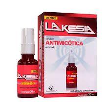 LAKESIA 30 ML - SOLUÇÃO ANTIMICÓTICA