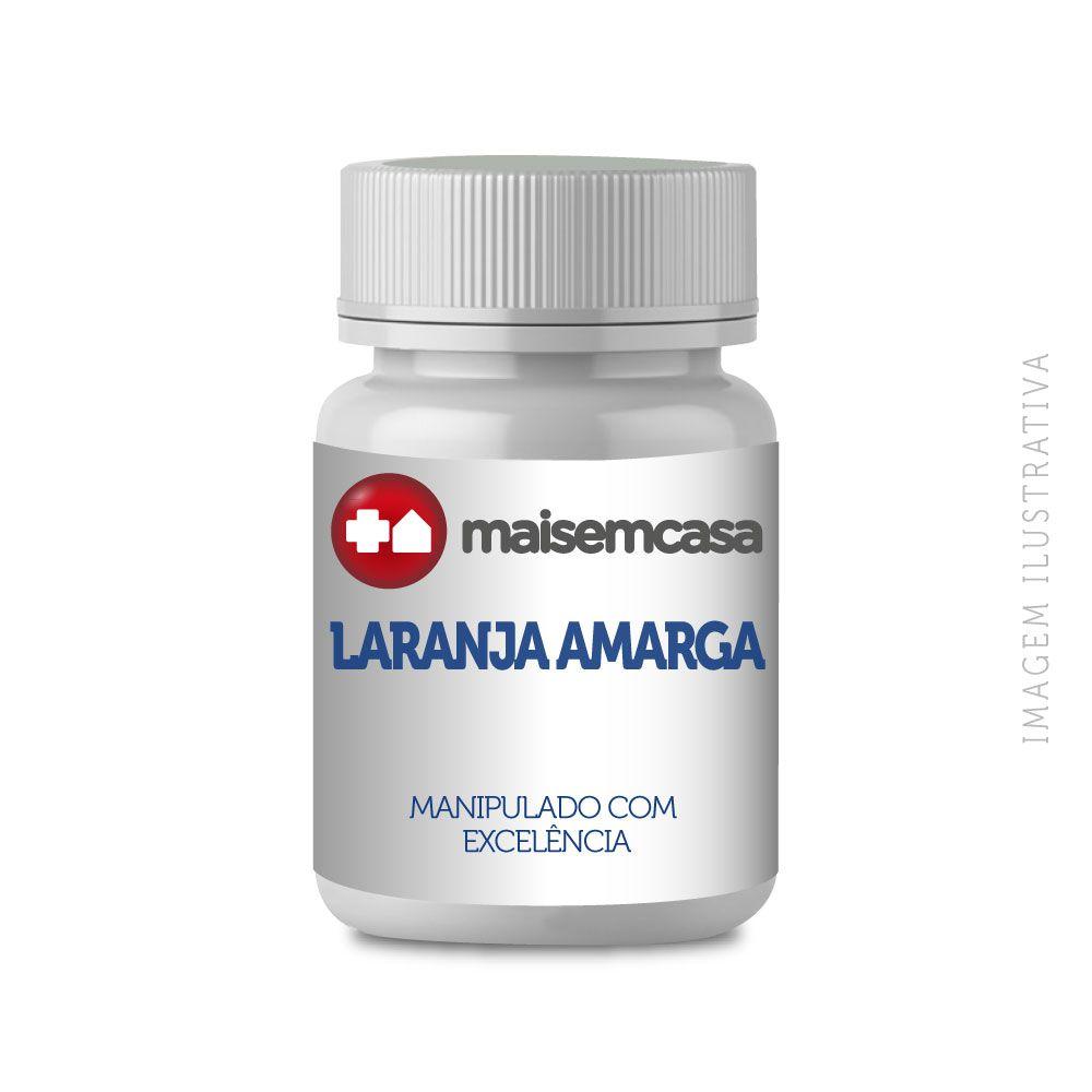 Laranja amarga (citrus aurantium) 500mg com 60 cápsulas